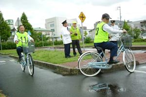 高齢者自転車大会