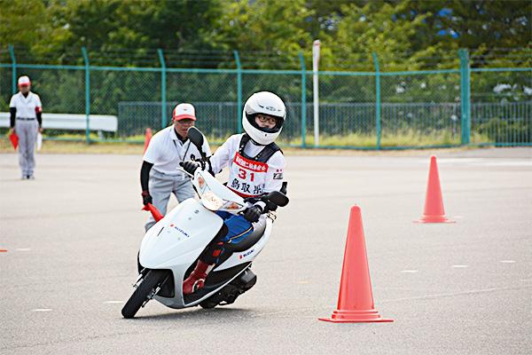 輪車安全運転大会