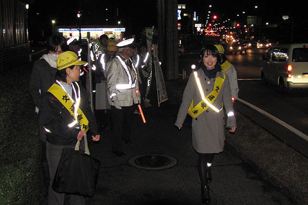 ピカピカパレード(反射材広報)