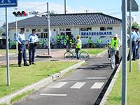 高齢者交通安全自転車大会